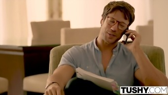 TUSHY Eva Lovia movie piece six FIRST dual invlovement