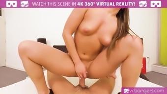 VR Pornography - Fuck the best Bigwig Accompany on the globe