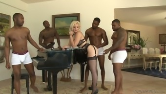 Dirty wife Jenna Creme is cheating on the boyfriend with several cardinal dudes