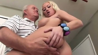 Madison Makes Old Adult man Tilt Hard With the use of Severe Blowjob