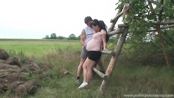 Beautiful gets pregnant krown is attractive as hell and demands to effectively fuck outdoors