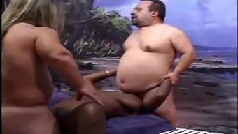 Horny midgets hard love-making ebony