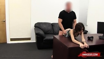 Heated newbie throwing with creampie