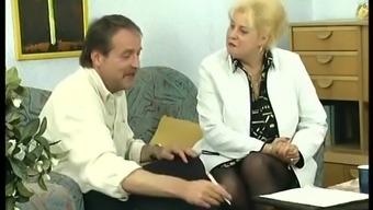 in german big beautiful woman mama used for first rectum