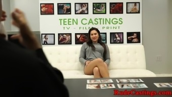 Teenage driving them away dame gets roughfucked