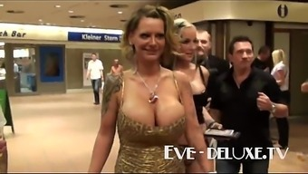 Eve Superior substantial tits generated to tittyfuck