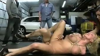 Bondage Slut Victim Intense Punishment