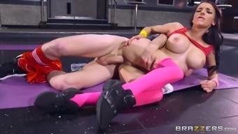 Sophia Laure & Danny D in Sweaty Butt Work out - Brazzers