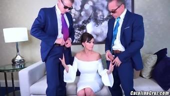 Catalina Cruz playing the first lady 2 big cock