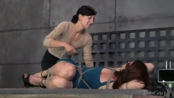 Some really wild lesbian BDSM session with nicely shaped hoe Cici Rhodes