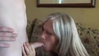 SBA Mom Wants And Gets Sons Cum And Cock !
