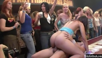 Its extreme goodbye at its best with the use of half open nice girls everywhere having intercourse