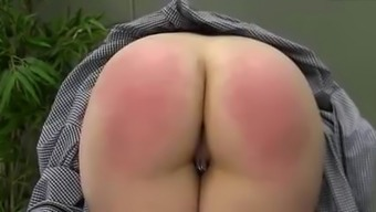 Sure date along with pierced pussy caned harshly