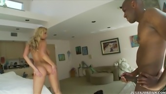 huge breasted healthcare provider, alanah visits share mandingo his medicinal treatments...and holy devotion his big prick!