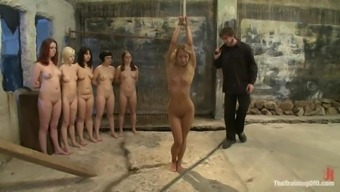 Perverted women already went through a a few torment in this BDSM