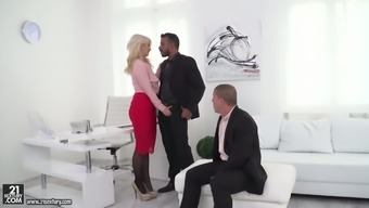 Bodacious ladyboss Layla Costs is trying out dick s of a couple of new personnel