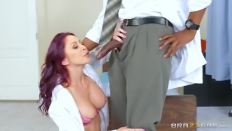 Monique Alexander and Ivy Lebelle want to think a black guy's cock