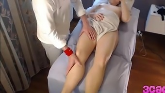 Concealed Cam at Rubdown Parlour Anal Use