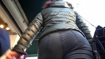 BootyCruise: Black Jeans Up-Ass Cam 2 or more