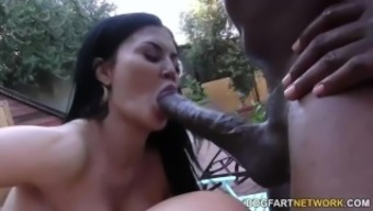 jasmine jae and lexi lowe enjoy bbc rectum by using mandingo