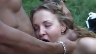 Orgy fucking by using filthy youngsters