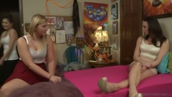 Typical time gets turned into outstanding lesbian sexual intercourse by using Melissa May