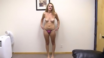 Getting pounded in different poses makes Elizabeth reach an orgasm