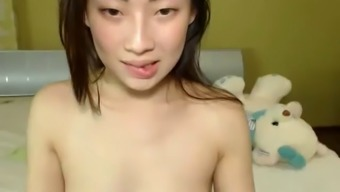 Asian girl hairy pussy
