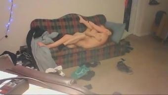 Big tit cheating slut caught on hidden cam fucking neighbor