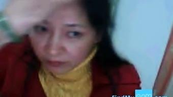 Chinese Lili got big tits