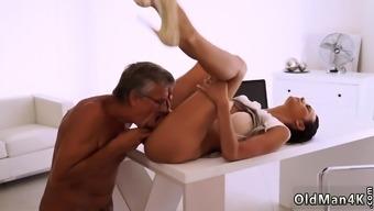 Russian old mature Finally she's got her boss dick