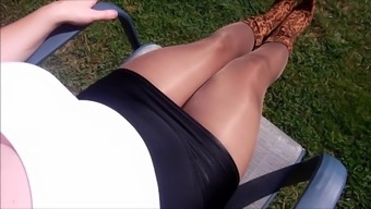 Spandex Angel - Nylon wet dream compilation