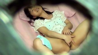 Japanese people babe touching