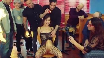 LETSDOEIT - Kinky Petite Girl Next Door In First Bondage Porn