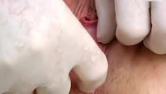 Amber gyno exam and orgasm heartbeat