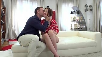 Horny Italian man Rocco Siffredi fucks slender chick with plump ass Jessika Night