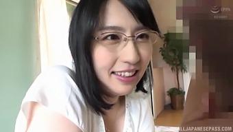 Closeup POV video of Japanese babe Ichinose Ayame getting fucked