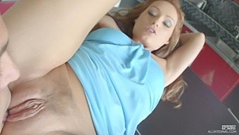 Creampie ending after passionate fucking with hot ass star Sophie Lynx