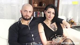 AmateurEuro - Lady Muffin - Hardcore Casting Sex With Slutty Brunette Babe