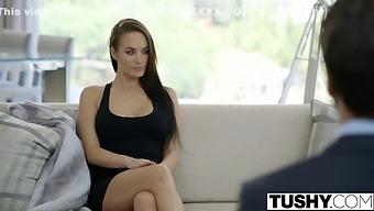 Big Tit Babe Alektra Blue Assfucked By Huge Cock