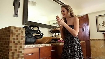 Kimmy Granger And Alice March Like To Play With Each Other While Alone At Home