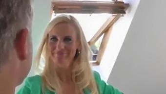 Naughty & Hot Mature Milf With Her Ex Husband Having Fun