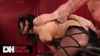 Metrohd - Hot Brunette Likes It Hard And Rough With Alektra Blue