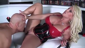 Big butt MILF Alura Jenson teases with massive boobs and rides