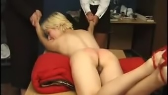 Injured and spanked challenging