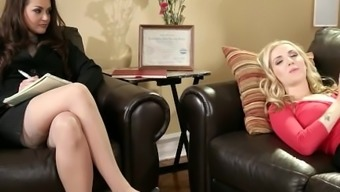 Youngster Lesbians Allie Vapor And Karla Kush
