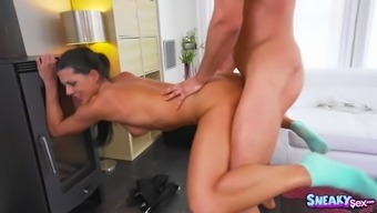 Alexa Tomas serves as a suitable blond who enjoys to really fuck in all of the assignments