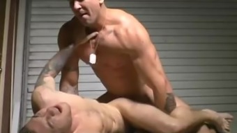 large penis gay anus love-making and cumshot