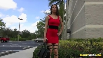 alexis rodriguez appeared to be identifide in a sophisticated high heels and upper legs