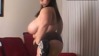 Big beautiful woman gets her first slutty interview